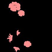 Motif floral avec des fleurs et colibris de christine - Deco printempsidees avec fleurs et motif floral ...